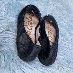 Sam Edelman Felicia Black Ballet Slip on Flat